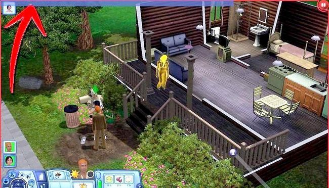 Billede med titlen Live As A Teen on Your Own i Sims 3 Step 14