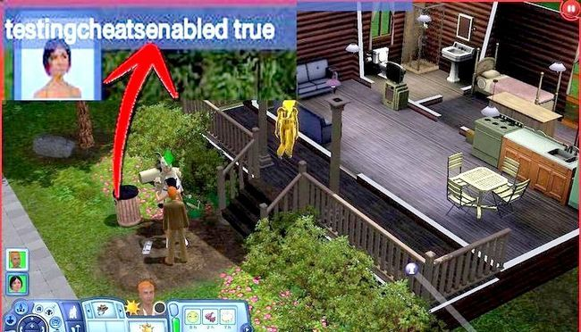 Billede med titlen Live As A Teen on Your Own i Sims 3 Step 15
