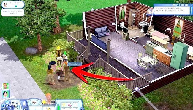 Billed med titlen Live As A Teen on Your Own i Sims 3 Step 16