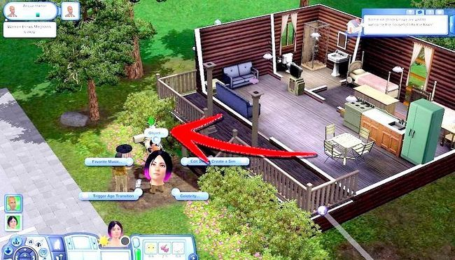 Billede med titlen Live As A Teen on Your Own i Sims 3 Step 17