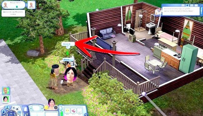 Billed med titlen Live As A Teen on Your Own i Sims 3 Step 18