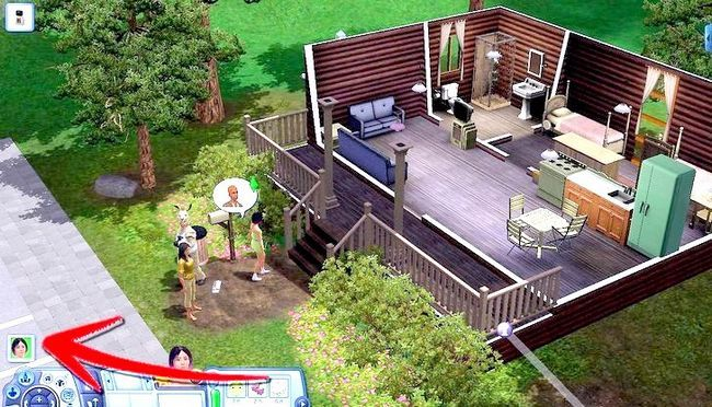 Billede med titlen Live As A Teen on Your Own i Sims 3 Trin 19