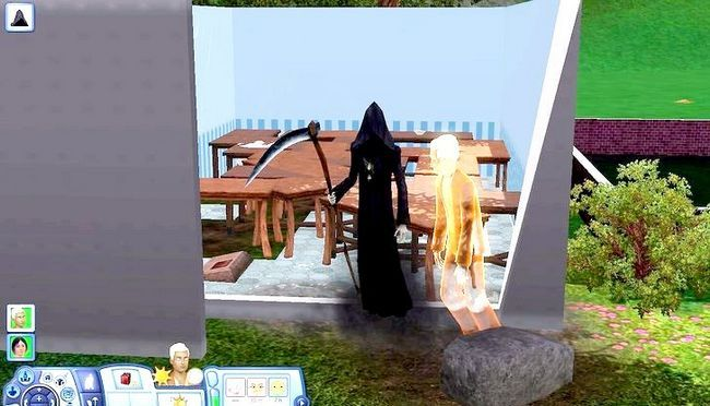 Billed med titlen Live As A Teen on Your Own i Sims 3 Trin 4