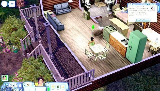 Billede med titlen Live As A Teen on Your Own i Sims 3 Trin 5